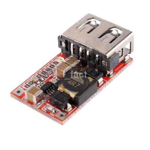 DC-DC Buck Module 6-24V 12V/24V to 5V 3A USB Step Down Phone Charger CA