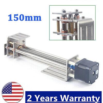 Cnc Z Axis Slide 3 Axis Engraving Machine Mini 150mm Diy Milling Linear Motion