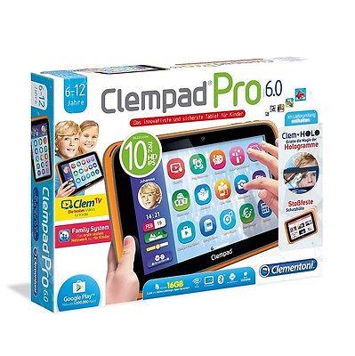 Clementoni Clempad Pro 6.0 10 Zoll Tablet für Kinder 16GB 6-12 Jahre NEU OVP