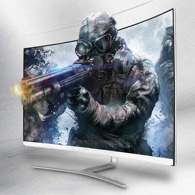 Hansung 3254C Curved Gaming Real 75hz FHD 32inch Monitor HDMI DSUB FreeSync 4ms
