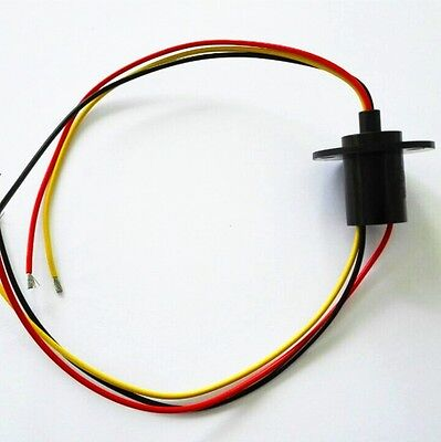 250rpm Capsule Slip Ring 3 Wires15a 240v For Wind Turbine Wind Power Generator