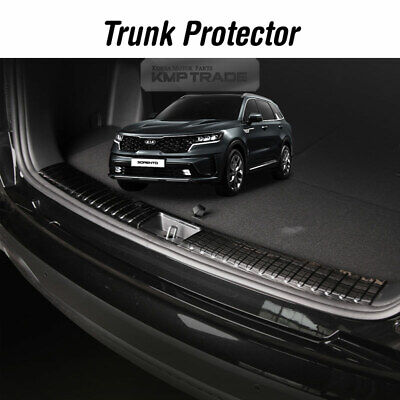 Stainless Trunk Step Rear Bumper Protector Cover for KIA 2021 SORENTO MQ4