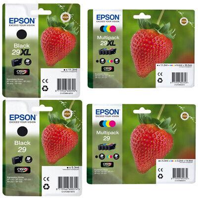 29 Drucker (ORIGINAL DRUCKER TINTE PATRONEN Epson 29 / 29xl Erdbeere-Serie T2981 T2991 )