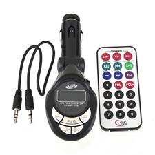 4in1 Car MP3 Player Wireless FM Transmitter Modulator USB SD CD MMC Remote FR