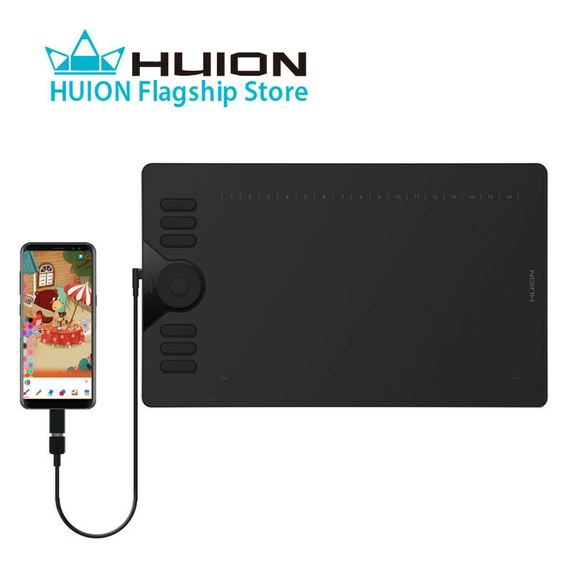 Huion HS610 Graphics Drawing Painting Pen Tablet 8192 10 x 6