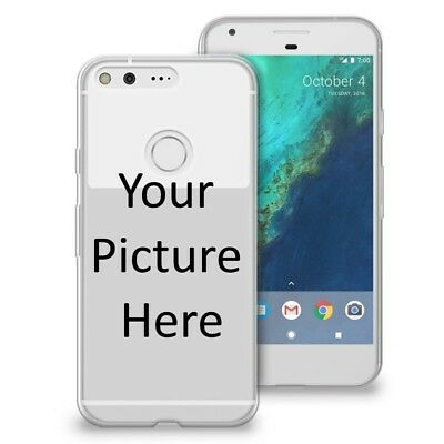 Custom Photo Image Logo Transparent Clear Tpu Case For Google Pixel Xl Pixel 2