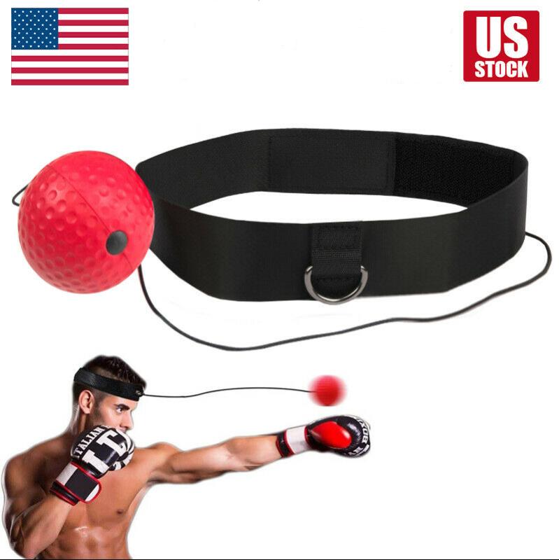 Boxing Reflex Ball Train At Home Equipment Gym Exercise Spor