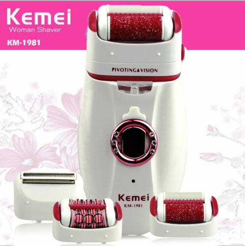 Women Electric Shaver Hair Epilator Removal 3 in1 Shaving Ma