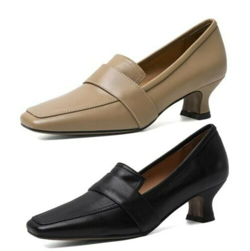New Women Solid Office Work OL Casual Oxfords Dress Formal S