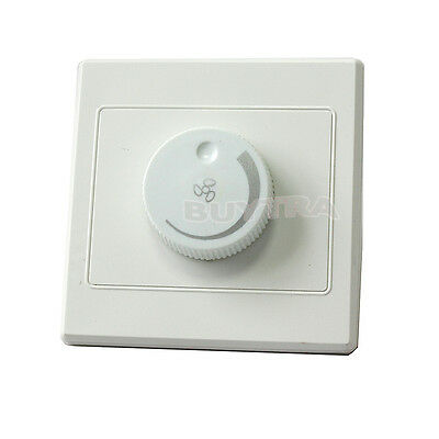 Best-chioce Best Ceiling Fan Speed Control Switch Wall Button AC220V 10A