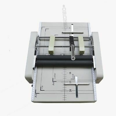 A3 Paper Booklet Binding Folding Machine Manual Booklet Stapler New Qc
