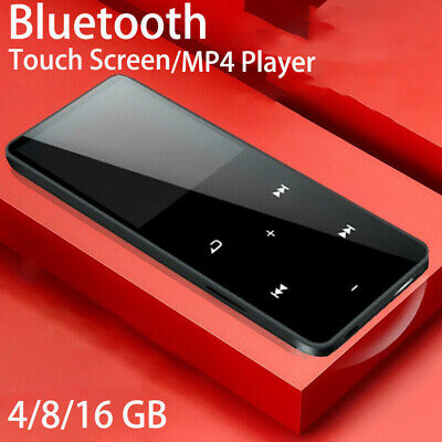 Wireless bluetooth 16GB MP3 MP4 Music Player With FM Media Touch Speakers CA D