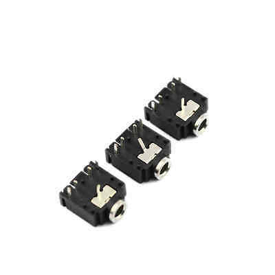 10 Pcs 3.5mm Female Audio Connector DIP 3 Pin Phone Jack PJ301M CA NEW