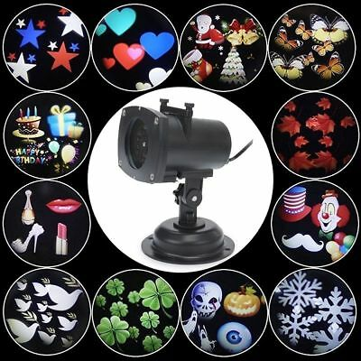 LED Light Projector Night Lamp Xmas NewYear Halloween Thanksgiving Party Holiday - Halloween Light Projector