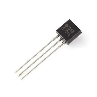 1000pcs Transistor Pnp To-92 Bc548 Bc548b 30v 100ma Fairchild Ic New Cf