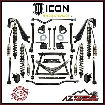 "ICON 1.75-4"" Stage 2 Coilover Conversion System 07-18 Jeep Wrangler JK"