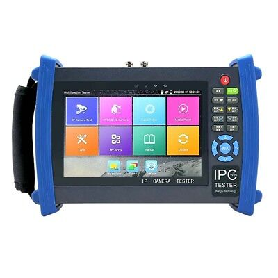 Ipc-8600 Plus 7touch Screen Ip Cctv Camera Tester 4k 12mp H.265 Wifi Ptz Hdmi