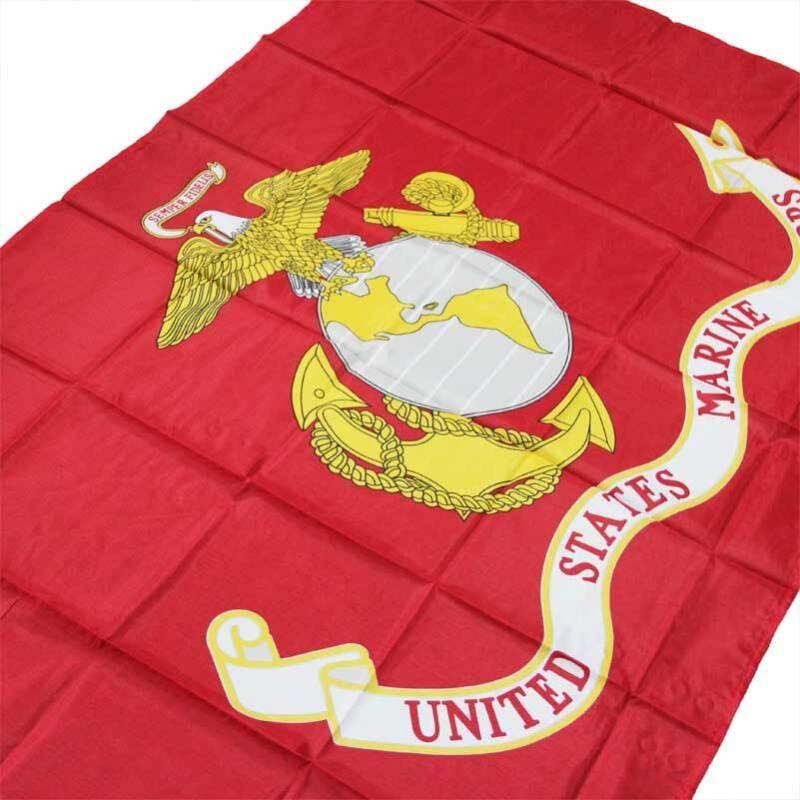 SEMPER FI FIDELIS USA FLAG USMC UNITED STATE MARINE CORPS FLAG NN059
