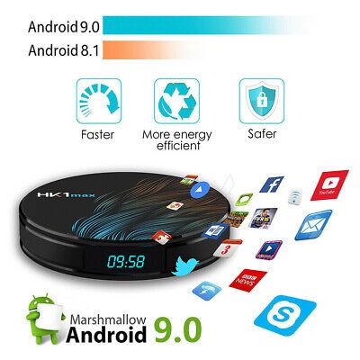 Android 9.0 Smart HK1 MAX 3D TV BOX 16/32/64GB RK3328 4K Media Player Top Box D
