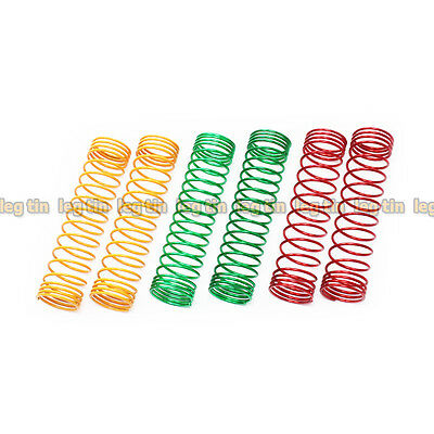 72mm x 15mm Spring (Soft/Medium Soft/Extra Soft) Set for Piggyback Shock (15 Mm Shock Springs)