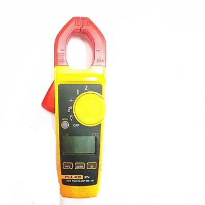 New Fluke 324 40400a Ac 600v Acdc Clamp Meter
