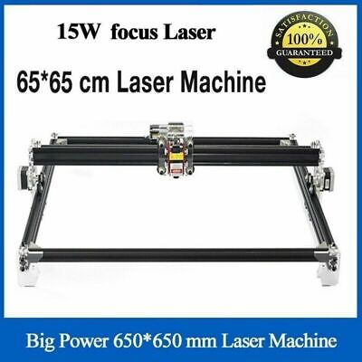 15000mw Cnc Blue Laser Engraving Machine 15w Cutter 650x650mm Diy Engraver Lazer