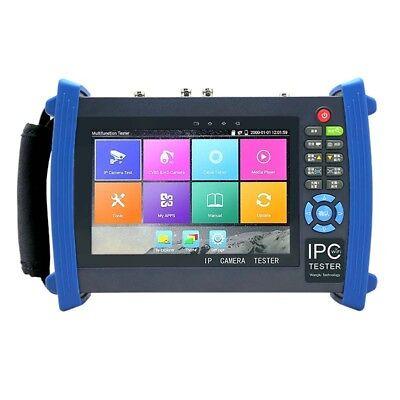 Wifi 4k Tvi Cvi Ahd Sdi Hdmi Cctv Ip Camera Tester H.265 Poe Ipc-8600adhs Plus