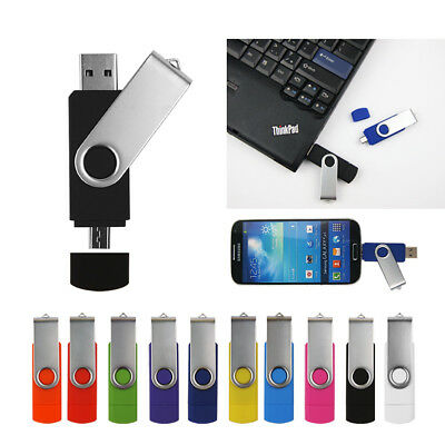 32GB Flash Drive File Photo Storage USB OTG Android Phone Memory Expansion Stick