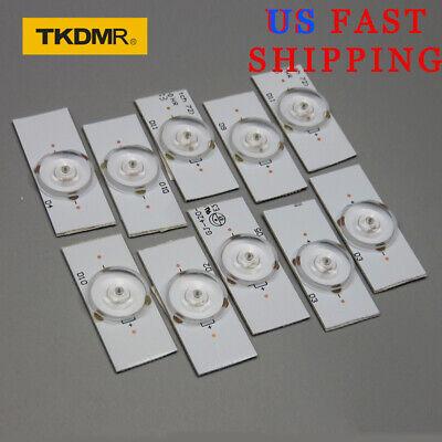 10 Pcs Of Led Lamp With 6v Bulb Diode 32-65 Inch Tv Optical Lens Flyer Backlight