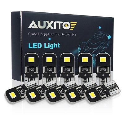 10x Canbus Error Free 194 168 LED Light Bulb White SMD chip lamp 2825 T10 W5W c4