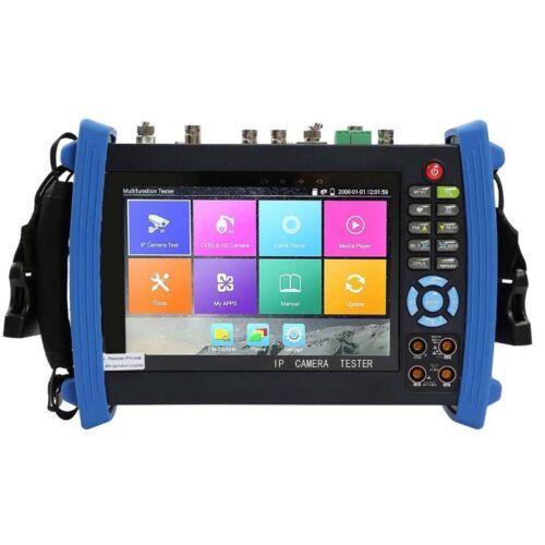 "IPC-8600MOVTADHS+ 7""Screen Full Configuration CCTV Camera Tester DMM TDR VFL OPM"