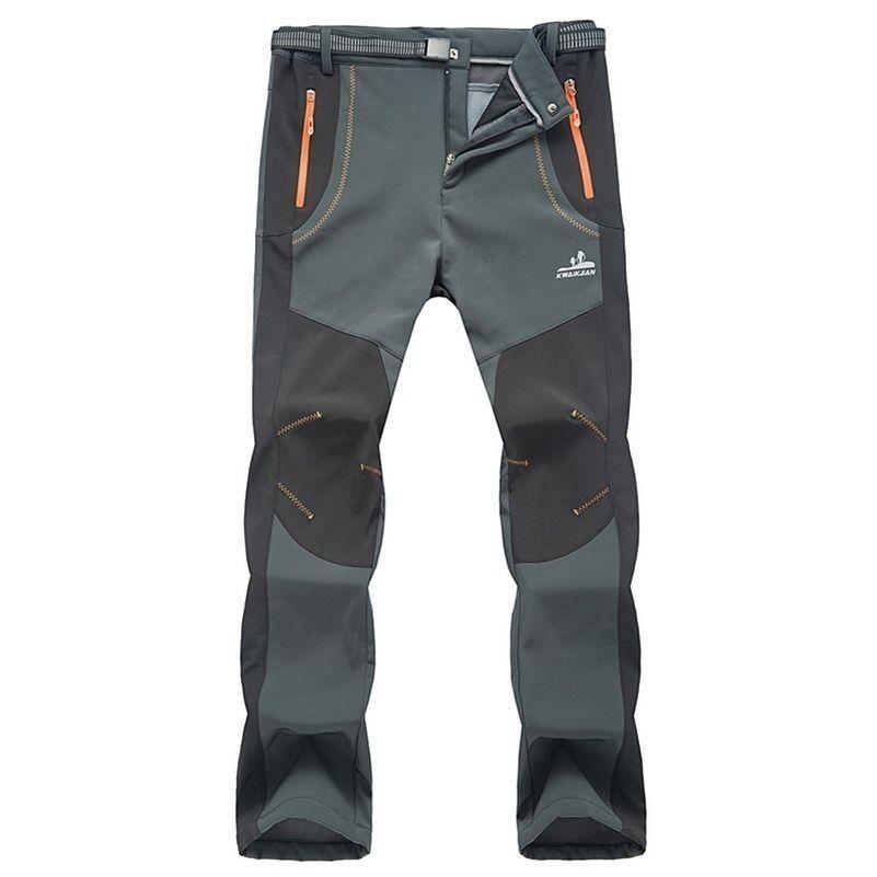 Invernale Da Uomo Per Outdoor E Escursionismo Pantaloni Da Sci Imbottito In Pile