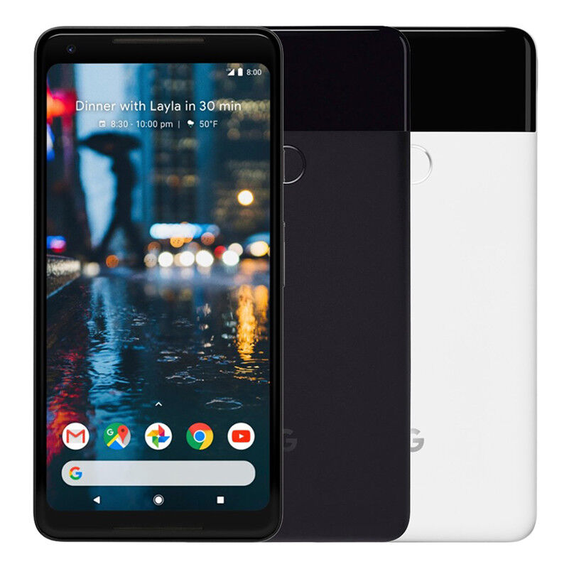 Android Phone - Google Pixel 2 XL 64GB Factory Unlocked 4G LTE Android WiFi Smartphone