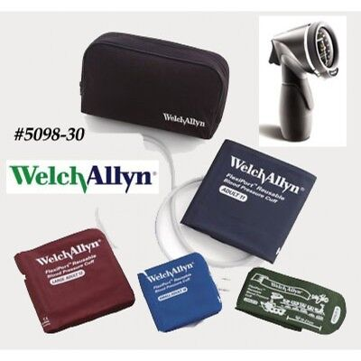 Welch Allyn Tr-1 Hand Aneroid Family Practice Blood Pressure Kit Model 5098-30
