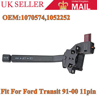 Indicator Stalk Steering Wheel Column Combination Switch For Ford Transit 91-00