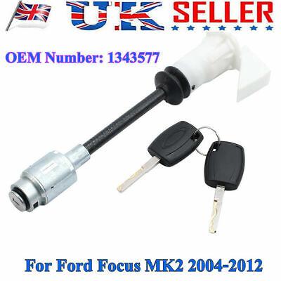 Bonnet Release Lock Latch Repair +2 Key Long Type For Ford Focus MK2 05-11 HOT