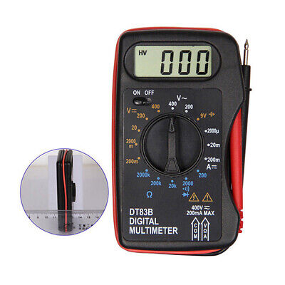 Portable Mini Lcd Digital Multimeter Pocket Ammeter Voltmeter Ohm Meter Volt Cz