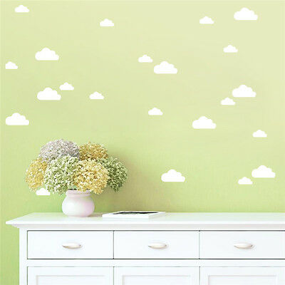 Cute Cloud Removable Art Wall Stickers Home Bedroom Decal Vinyl Decor Baby Room