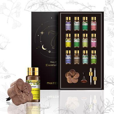 12/set aceite esencial natural los aceites esenciales aromaterapia terapéutico