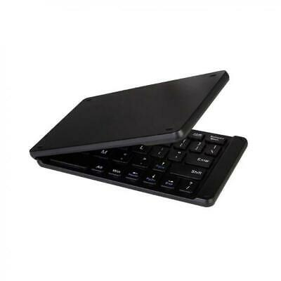 SLIM COMPACT FOLDING WIRELESS KEYBOARD PORTABLE For PHONES &