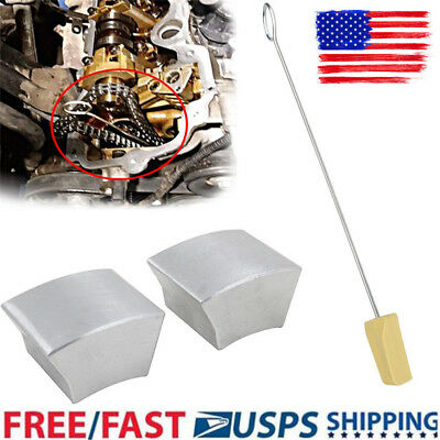 - 5.4L 4.6L 3V Fit Ford Cam Phaser Lock Out Repair Kit Timing Chain Wedge Tool