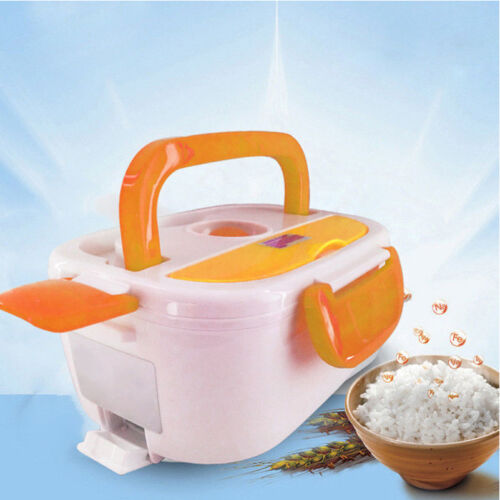 Portable 220V Electric Heated Heating Lunch Box Bento Food R