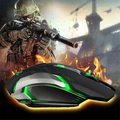 Gaming USB wireless Bluetooth charging mute LED seven-color cool glow mouse