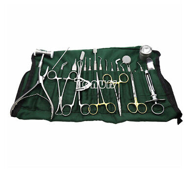 26pcsset Dental Lab Implant-kit Instruments For Teeth Stainless Steel Equipment
