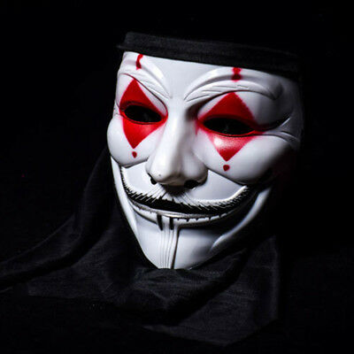 ask Clown Ghost Head Vendetta Party Street Dance Accessories (V Halloween-party)