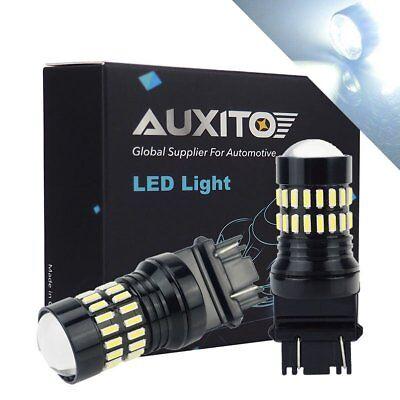 48H Serie 2x 3157 3156 LED Reverse Bulb Backup Signal Light 6000K For Chevrolet