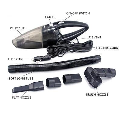 Portable Mini Vacuum Cleaner For Car Dry Wet Dust Dirt Cordless Handheld Hand
