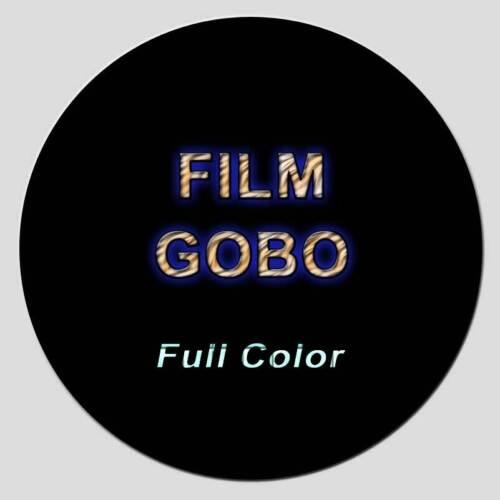 CUSTOM GOBO ****Free Custom Design*****  [Full Color Film Disc]