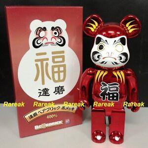Bearbrick-2012-Tokyo-Sky-Tree-Exclusive-Metallic-Daruma-400-Red-Plate-Be-rbrick