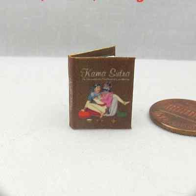 (KAMA SUTRA HANDBOOK Illustrated Miniature Book Dollhouse 1:12 Scale Readable)